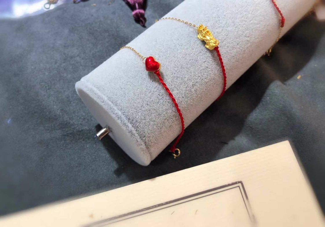3D硬金手链