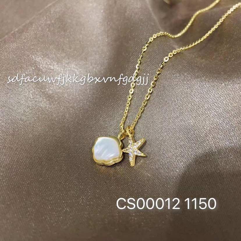 海洋系贝壳项链